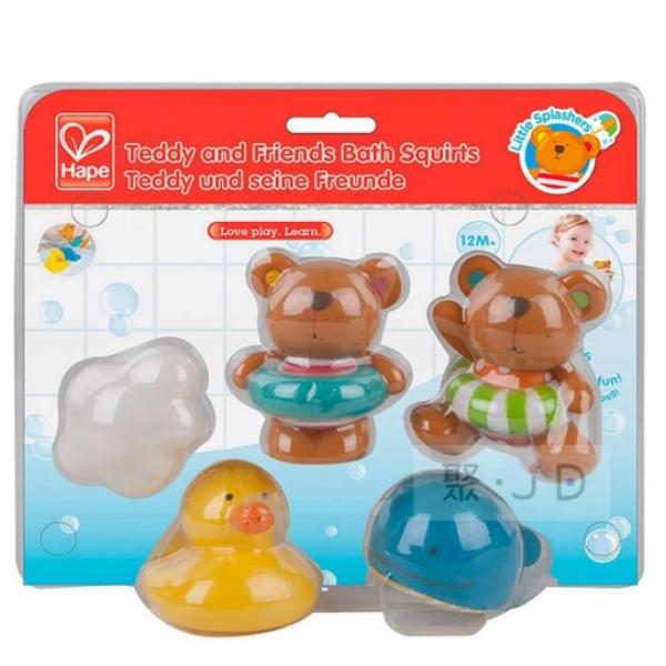 2021新貨 SF00807 泰迪熊洗澡小夥伴
