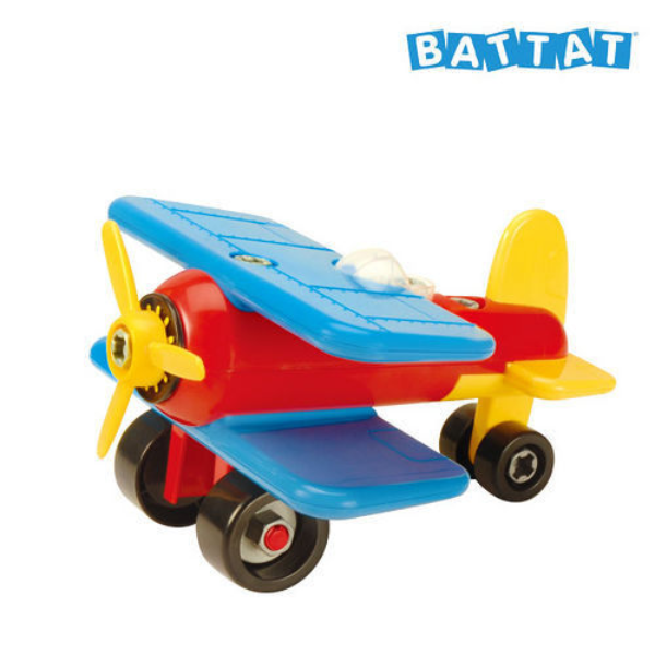 【美國 B.Toys 感統玩具】雙翼戰鬥機