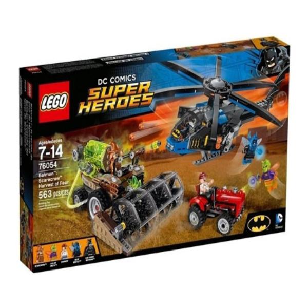 【LEGO 樂高積木】超級英雄 Super Heroes 系列 -蝙蝠俠 稻草人恐懼氣體