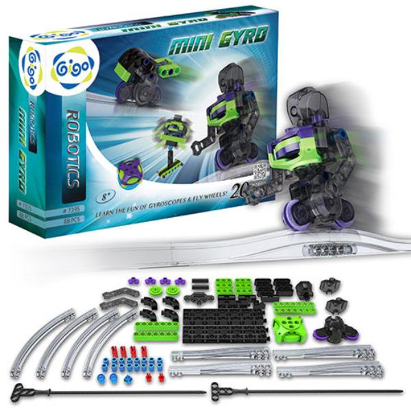 【智高 GIGO】陀螺儀飛輪機器人 #7395