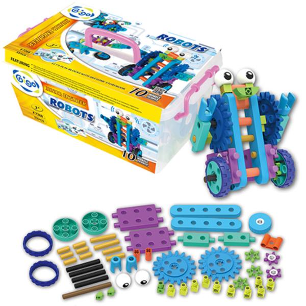 【智高 GIGO】小工程師-機器人羅比 #7268