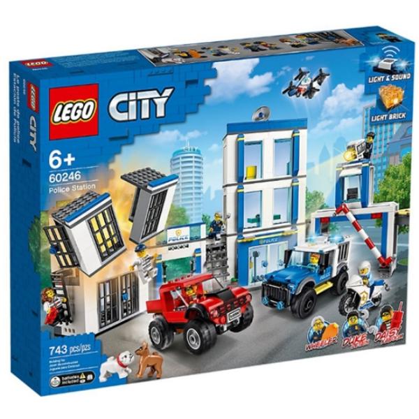 【LEGO 樂高積木】城市 City 系列 -  警察局