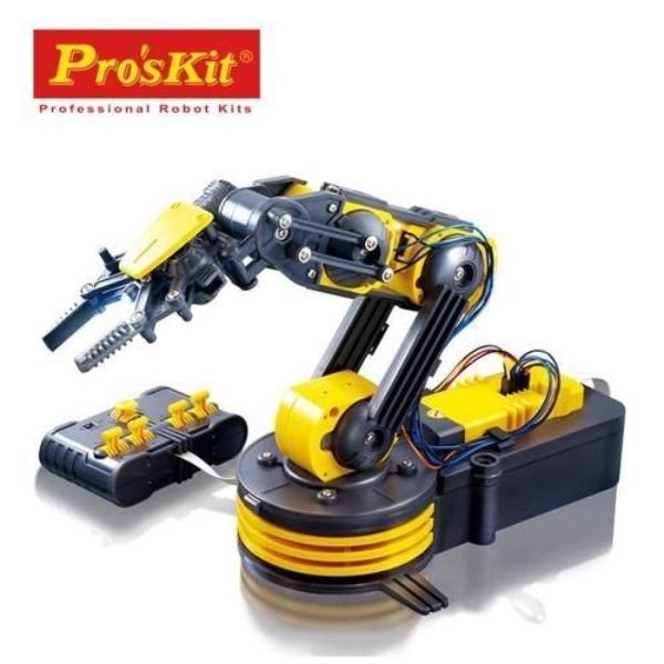 【寶工 ProsKit 科學玩具】動力機器手臂/動力機械手臂GE-535N