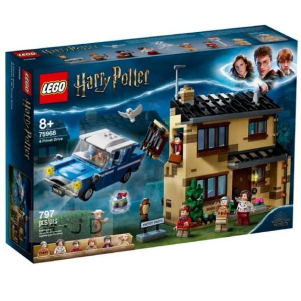 【LEGO樂高積木】哈利波特系列 - 4 水蠟樹街