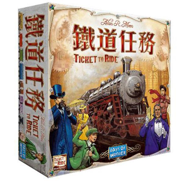 【樂桌遊】鐵道任務-美國 Ticket to ride US (繁中版) 49380