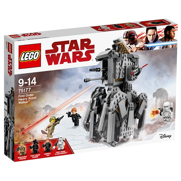 【LEGO 樂高積木】星際大戰Star Wars系列-First Order Heavy Scout Walker