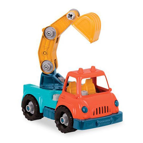 【美國 B.Toys 感統玩具】 索羅斯起重怪手 VE1011Z