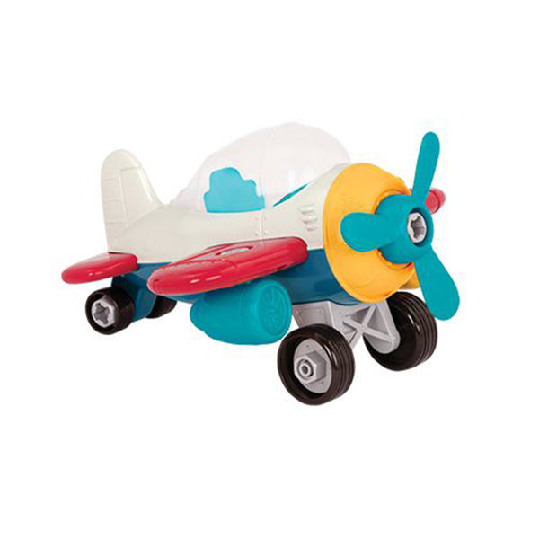 【美國 B.Toys 感統玩具】 索羅斯戰鬥機 VE1012Z