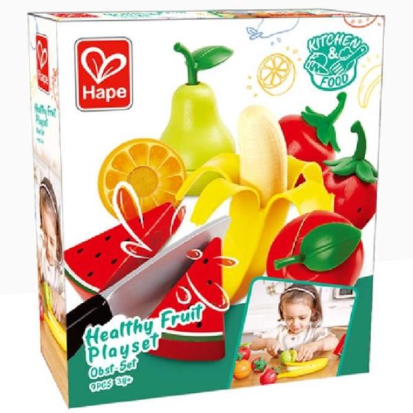【德國 Hape】精緻木玩 - 美味水果切切樂